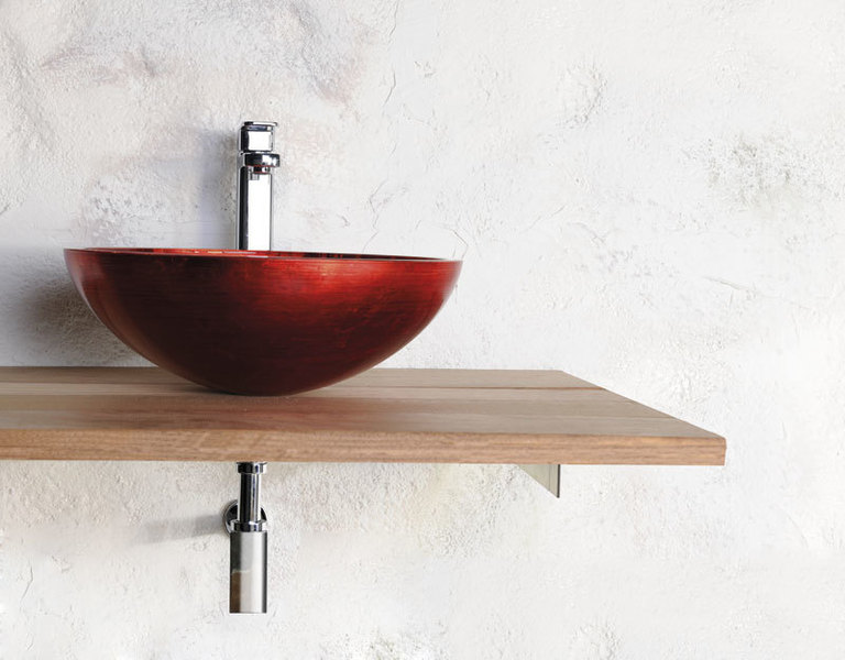 waschschale rund waschtisch glas 40 13 murano rot handgefertigt nord aqua. Black Bedroom Furniture Sets. Home Design Ideas