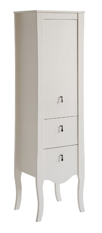 badschrank hoch elisabeth 155 badausstattung badm bel weiss nord aqua. Black Bedroom Furniture Sets. Home Design Ideas